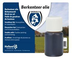 Berkenteer olie