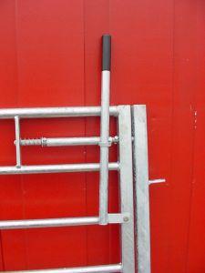 Poort in frame H = 1,00 m, L = 1,23 m horizontale spijl
