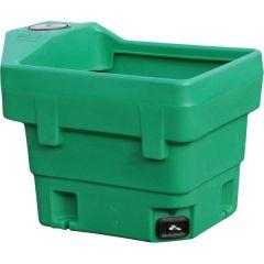 Staande drinkbak / waterbak 190 ltr vierkant