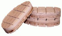 Easy Hoof Block hout