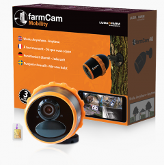 FarmCam Mobility mobiele bewakingscamera met accu en 4G
