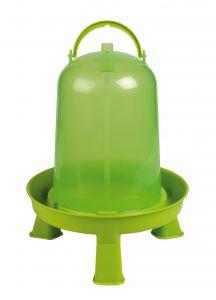 Pluimvee drinktoren 8 liter green lemon op pootjes