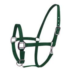 Halster Excellent donker groen pony
