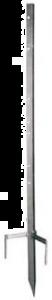 Hoekpaal gegalvaniseerd WZ 85