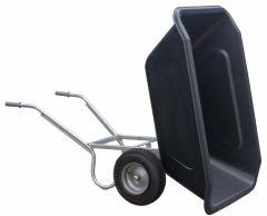 manegekruiwagen 350 liter met kantelsysteem