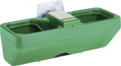 Dubbele aanbouwdrinkbak Mod. Biglac 55T inhoud 55 ltr, lage druk vlotterventiel
