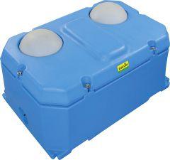 baldrinkbak compact, 2 balleninhoud 71 l, 25-40 dieren, aansluiting 1/2
