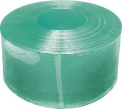 PVC-lammelen Compact 300 x 3 m, groen transparant, 25 m rol