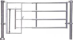 Afscheiding kalveren R4 (5/6),montage lengte 5,45-6,25m
