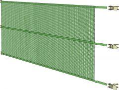 Spanpaneel, 1,00 m hoog x 3,05 m breed