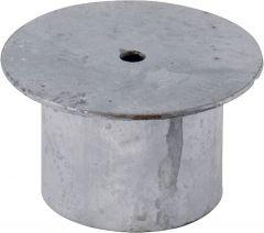 Afdekking v. inbouwhuls 76 mm, vz.