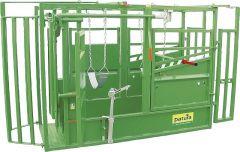 Vastzet en behandelbox A5000 KVW profiklauwbehandeling incl. voorpootlier thermisch verzinkt