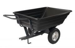 Aanhangwagen met kipbak in kunststof 200 kg