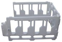 Kunststof uitloop tbv kalverhut Compact