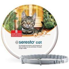 Seresto 1,25 g + 0,56 g vlooien-/tekenband kat