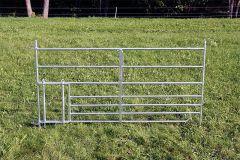 Steekfix hek, met lammeren kruipgat B = 1,80m
