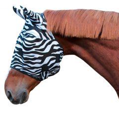 Vliegenmasker Zebra Full