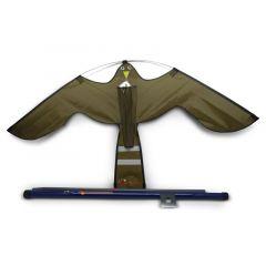 Hawk Kite bruin, vogelverschrikker
