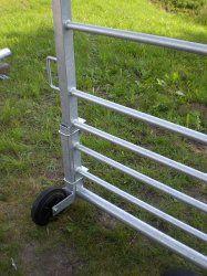 Loopwiel voor landhek