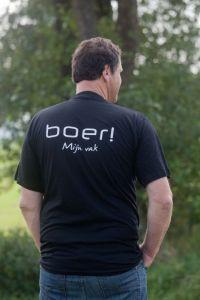 T-shirt BOER! mijn vak maat L