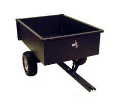 Aanhangwagen met kipbak in metaal 500 kg