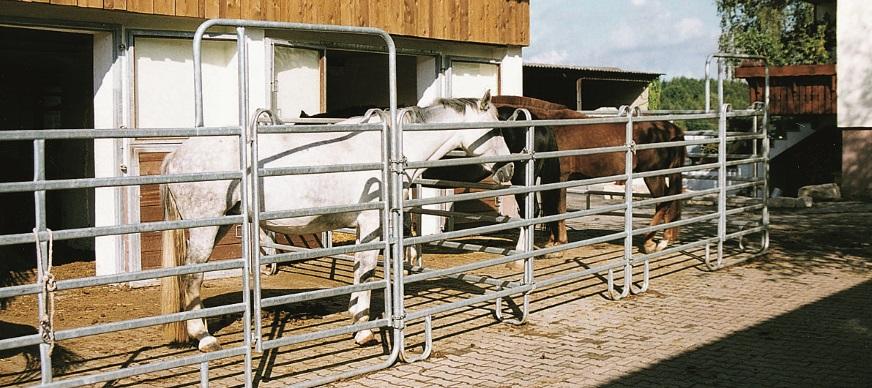 Paddockhekken, paneelhekken en paardenpanels