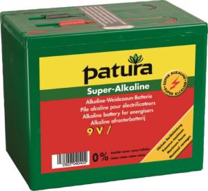 Super Alkaline Batterij 9V 160Ah, klein