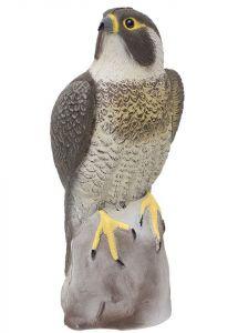 Kunststof roofvogel, slechtvalk 40 cm