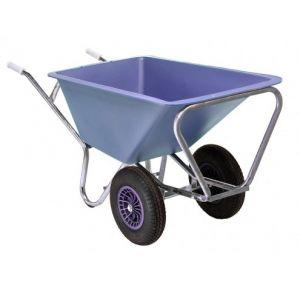 Fort stalkruiwagen 2-wiel, 160 liter, Lavendel paars