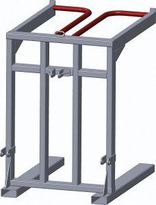 Palletframe voor paneelhekken