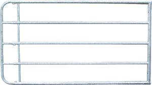 Weiderasterpoort 1,10m, lengte 3,00-4,0mgegalvaniseerd, incl. montageonderdelen