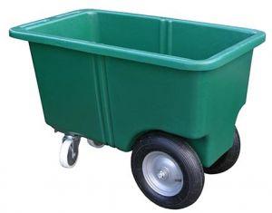 Voerwagen 4 wielig, 255 liter