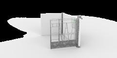 CalfOTel Indoor Combo 100cm uitbreidingsset met achterwand