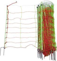 Tornado XL schrikdraadnet, combi, 90 cm hoog met dubbele punt, 50 m
