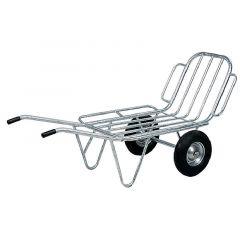 Tweewielige voerkruiwagen
