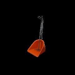 Mestboy opraapbak 78 cm + hark 85 cm oranje