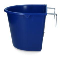 Voerbak 15 l + ophang donkerblauw