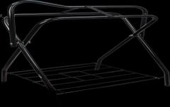 Zadelhouder zelfstaand 89x71x46cm zwart