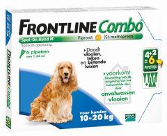 Frontline Combo hond M 10-20 kg 6 pipetten
