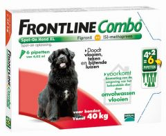Frontline Combo hond XL >40 kg 6 pipetten