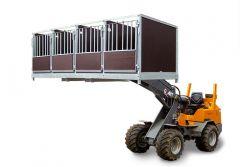 Kalverbox Quattro betonplex palletinsteek