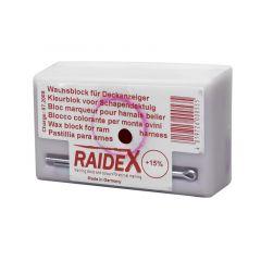 Kleurblok metaal Raidex rood