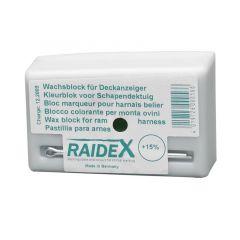 Kleurblok metaal Raidex groen