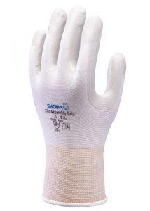 Handschoen SHOWA 370 Assembly Grip wit mt XL
