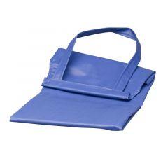 Melkschort blauw rubber