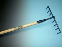 Bouwhark DeWit 8-tands met Atlas steel 160x3,2cm