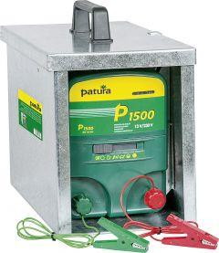 P1500, multifunctionele schrikdapparaat 230V / 12V met afgesloten draagbox Compact