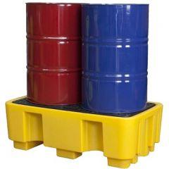 Lekbak, opvangbak kunststof 250 liter / 650 kg