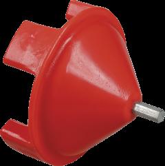 Accu schroefadapter voor haspel met borstdrager (115110)