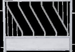 Diagonaal voerhek voor schapen, 1,37 x 1,00 mtr